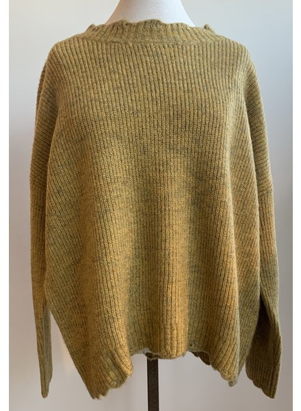 Molly Ribbed Turtleneck