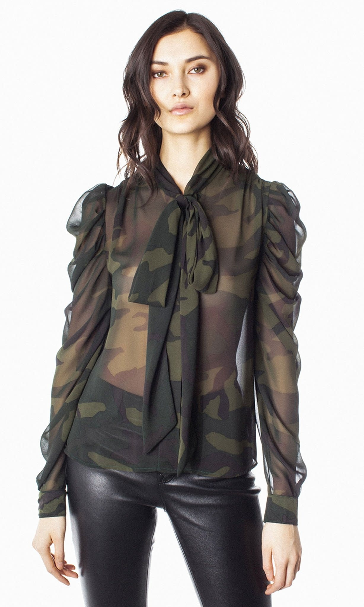 Generation Love Lisa Top/ Camo/ L