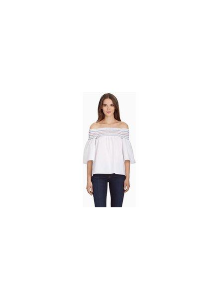 Parker NY Yasmin Top/ White/ S