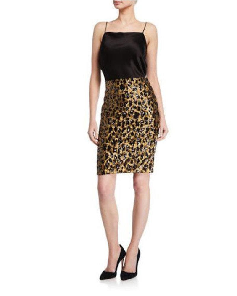 Alice + Olivia Ramos Sequin Skirt