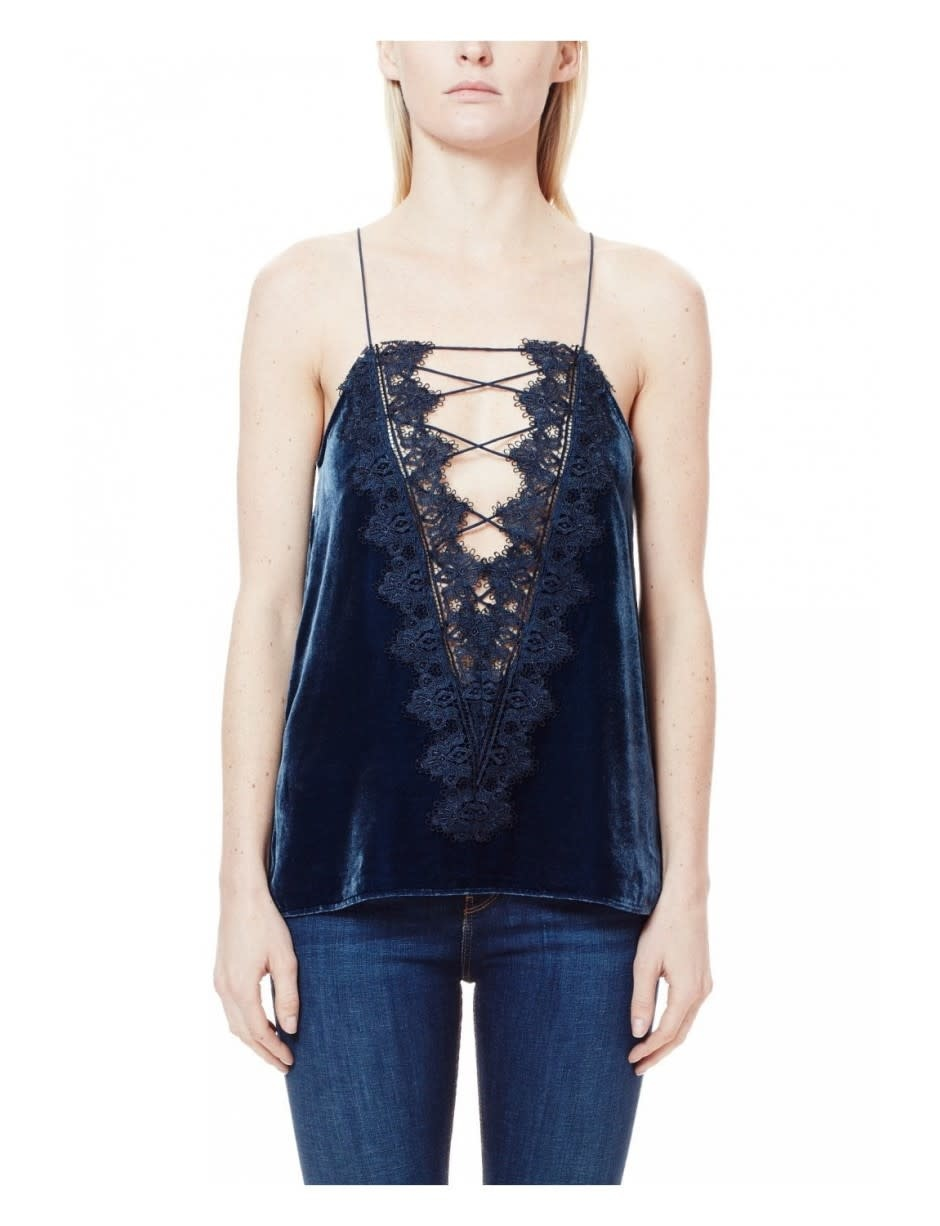 Cami NYC Charlie Reversible Top/ Navy/ S