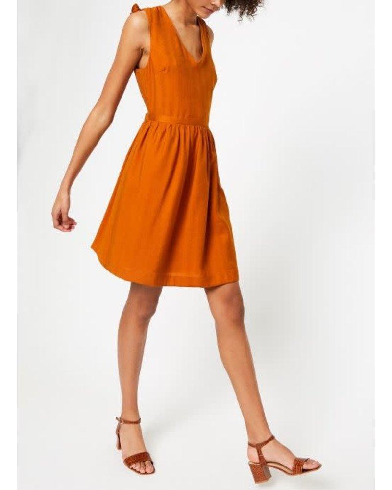 Suncoo Capri Dress/ Tobacco/ T3