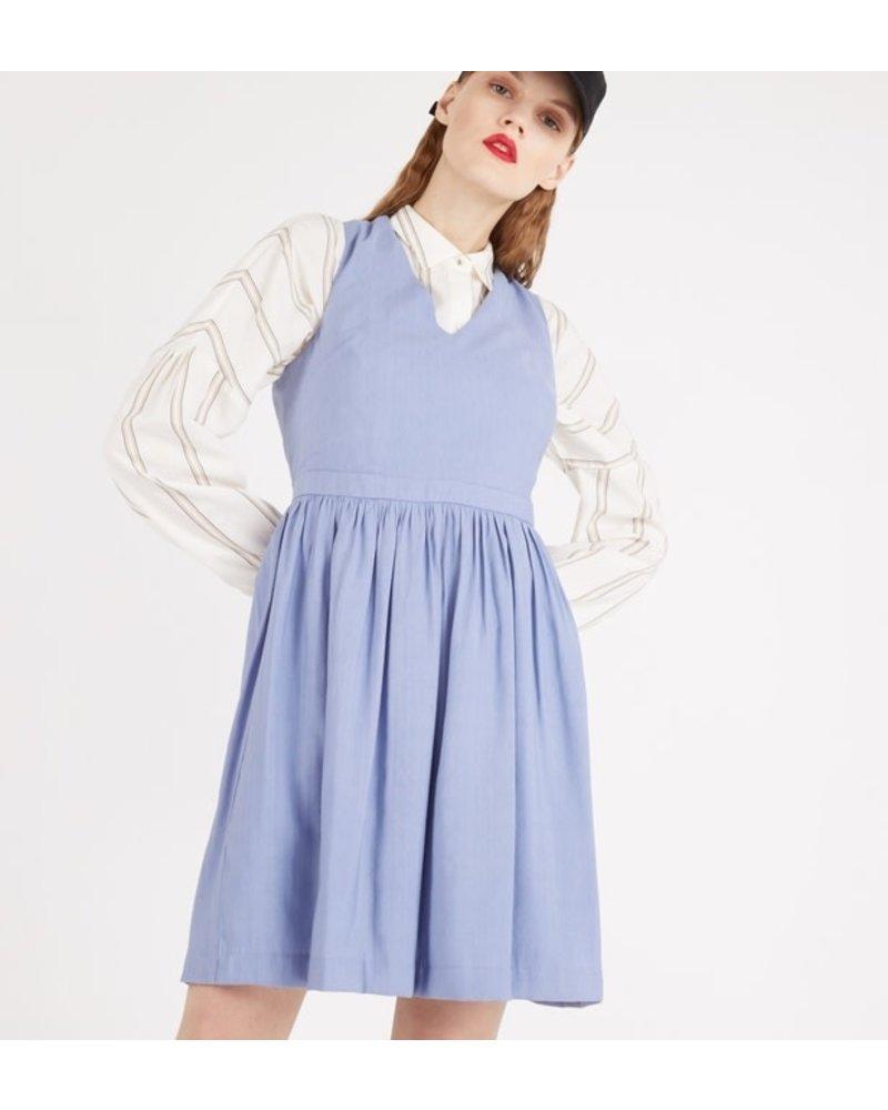 Suncoo Capri Dress/ Blue/ T2