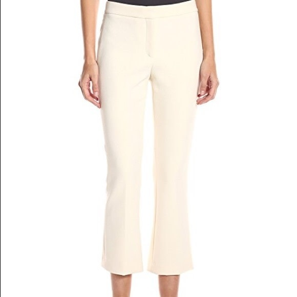 Theory Erstina Pant/ Cream/ 4