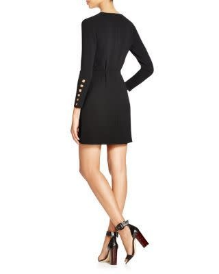 Cut Out Dress/ Black/ 38