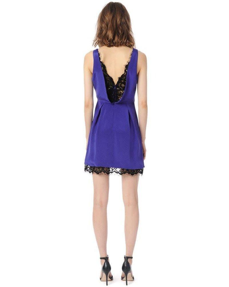 Parker NY Collins Dress/ Cobalt/ M