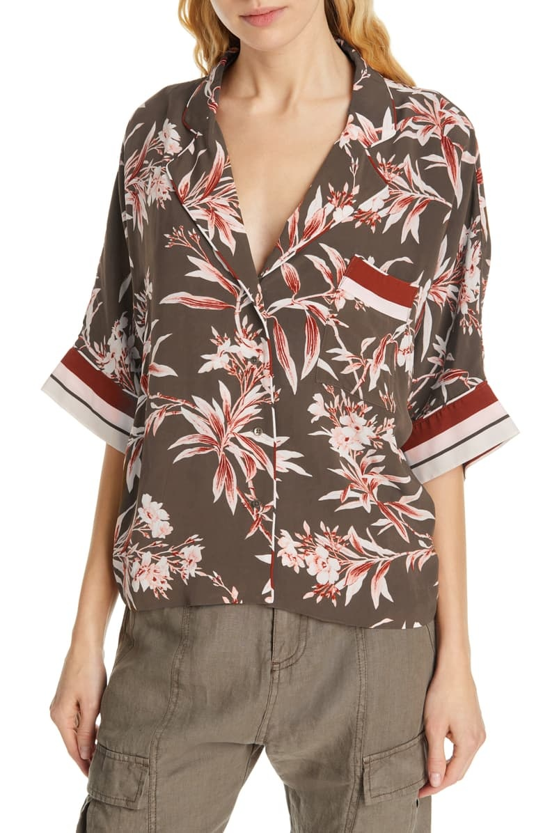 Joie Bayley Blouse/ Fatigue/ M
