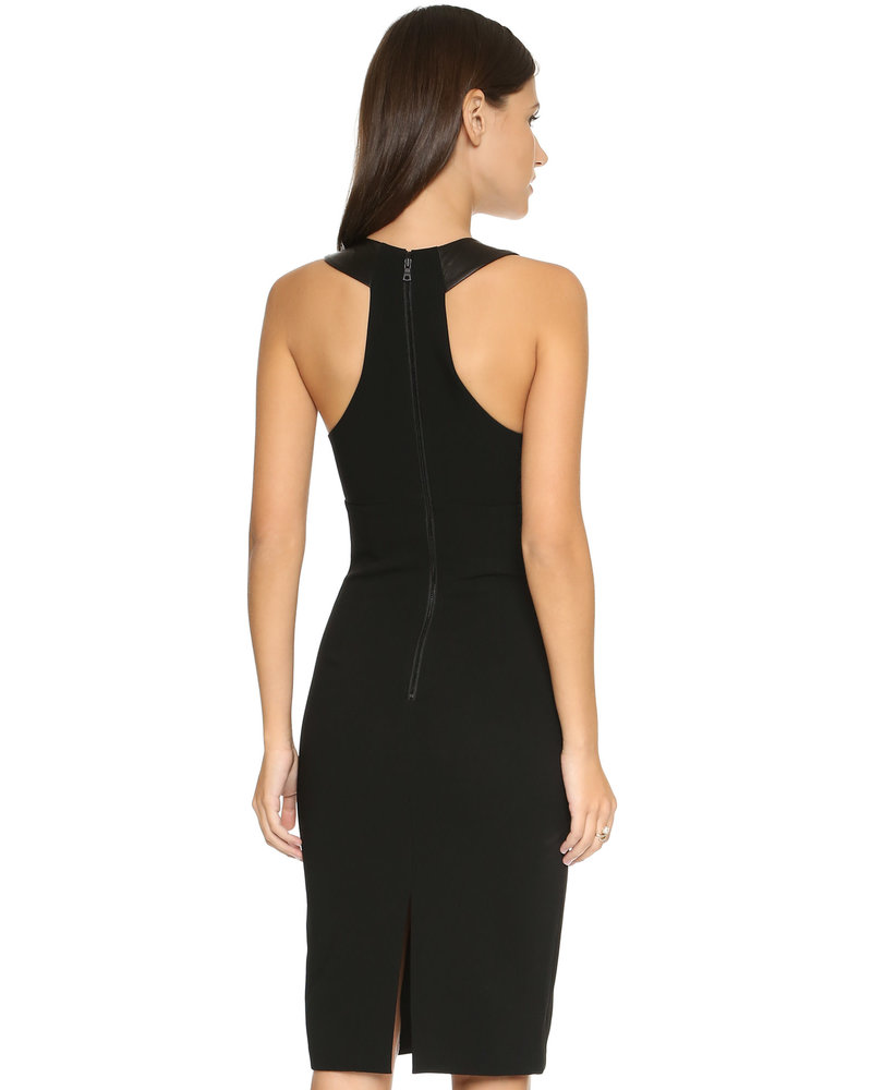 Alice + Olivia Hera Cut Out Dress/ Black/ 6