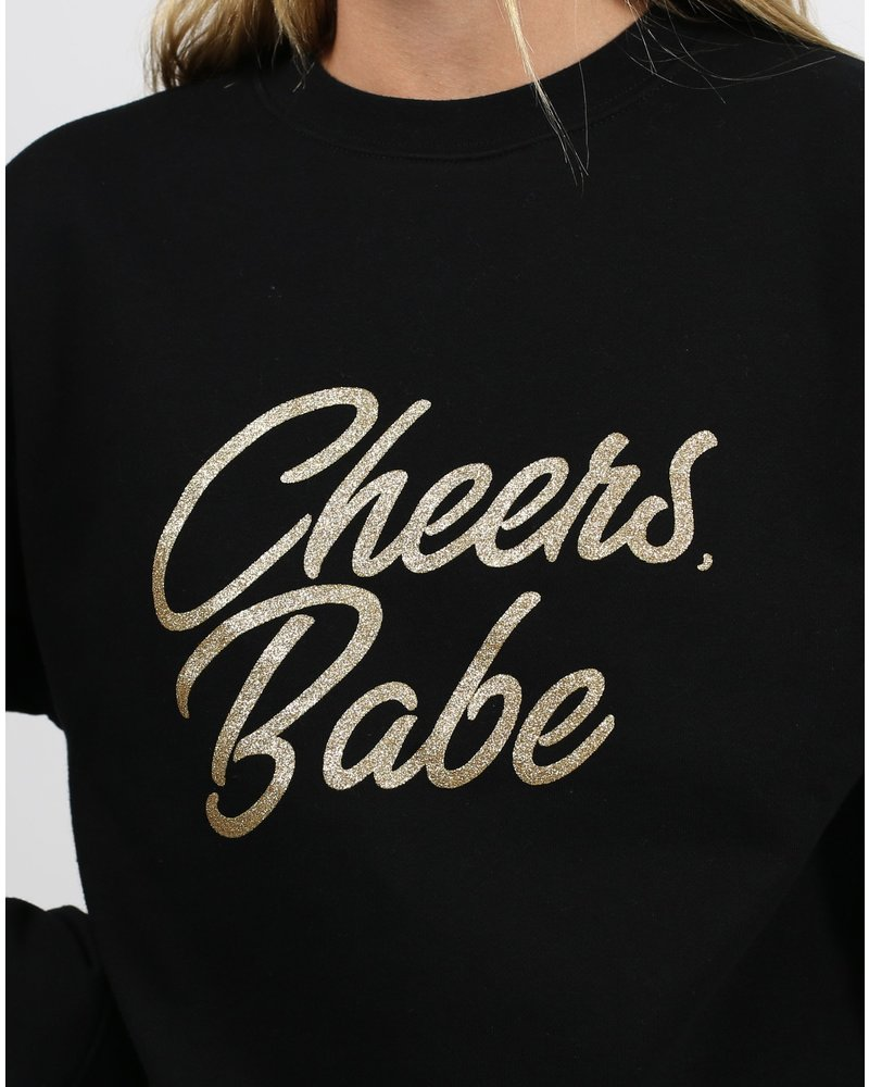 Brunette The Label Cheers Babe Crew
