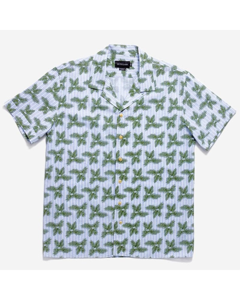 Outclass Short Sleeve Havana Shirt
