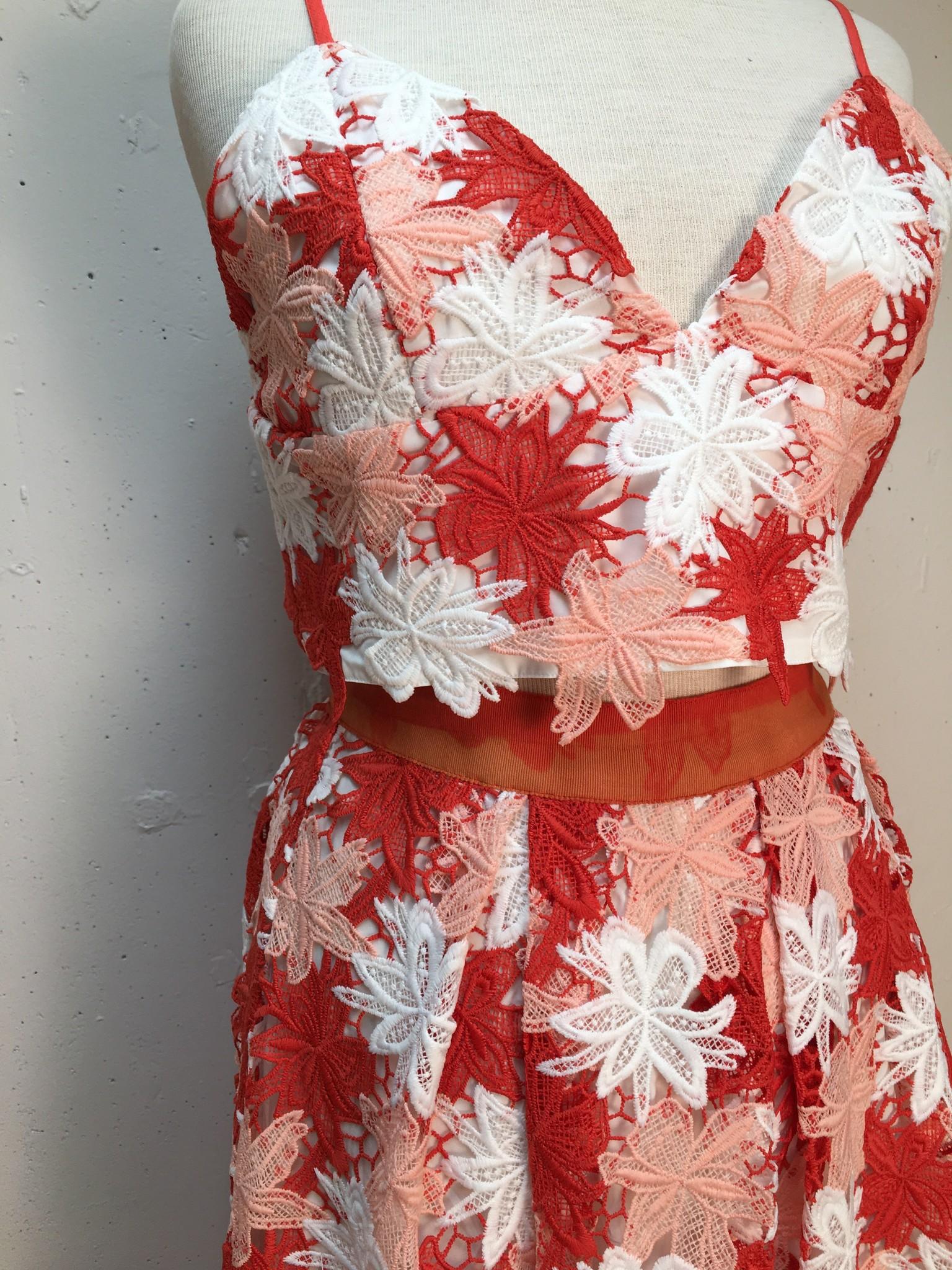 Suncoo Flaubert Skirt Set/ Geranium/ T2