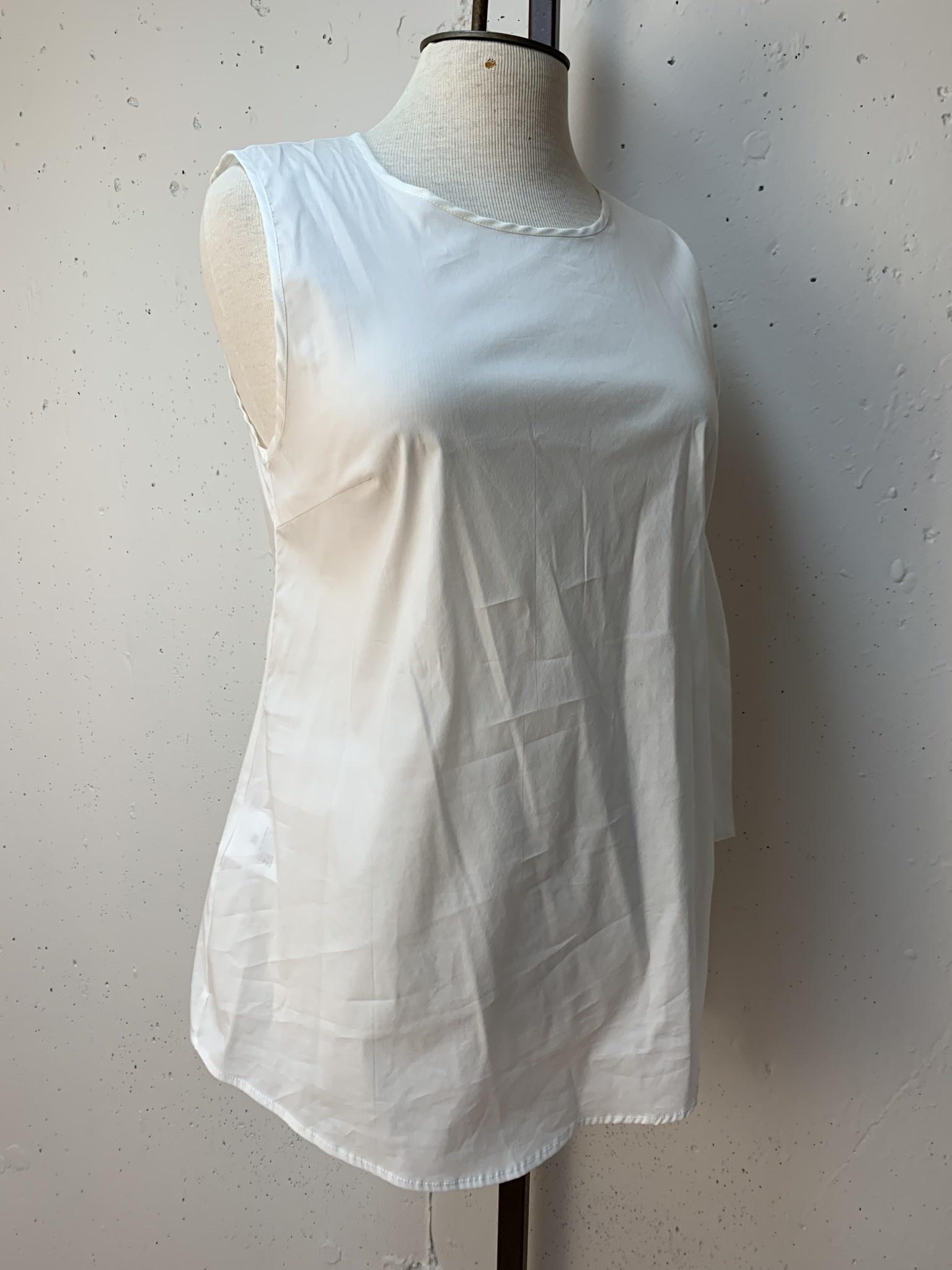 Liviana Conti *Tie Side Top/White/38