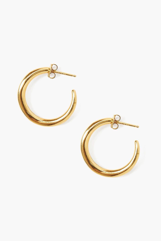 Chan Luu Petite Gold Infinity Hoops