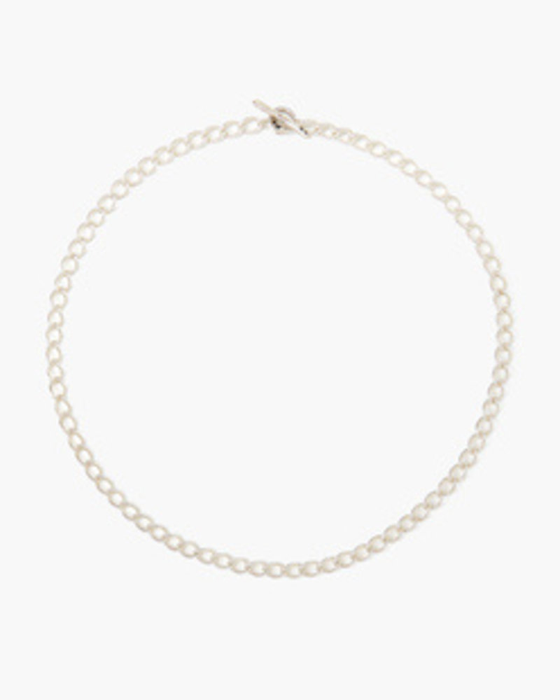 Chan Luu Silver Chain Link Necklace
