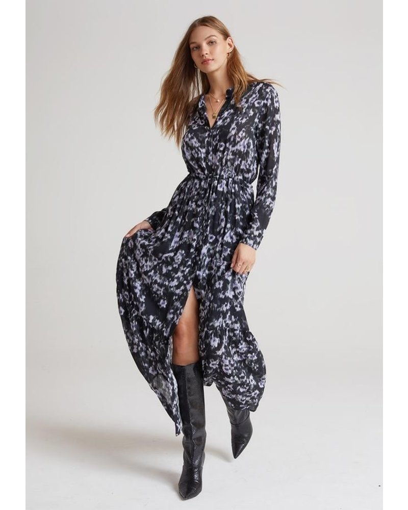 Bella Dahl Ruffle Hem Maxi Dress