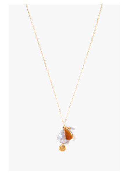 Chan Luu Pink Pearl Necklace