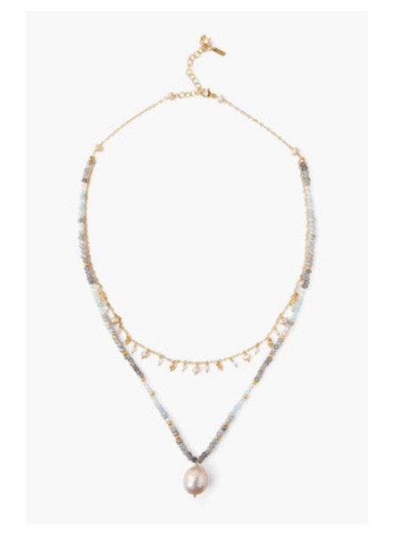 Chan Luu Layered Pearl Necklace