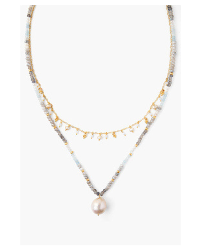 Chan Luu Layered Pearl Necklace