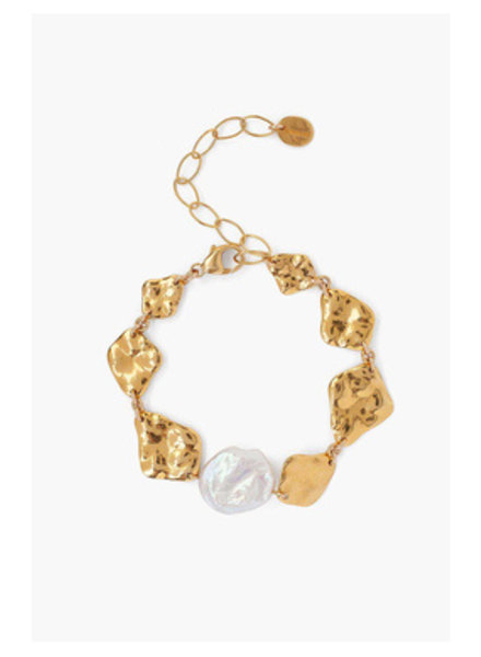 Chan Luu Gold Bracelet W/ Pearl
