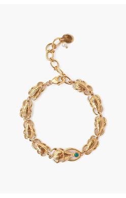Chan Luu Turquoise Beetle Bracelet