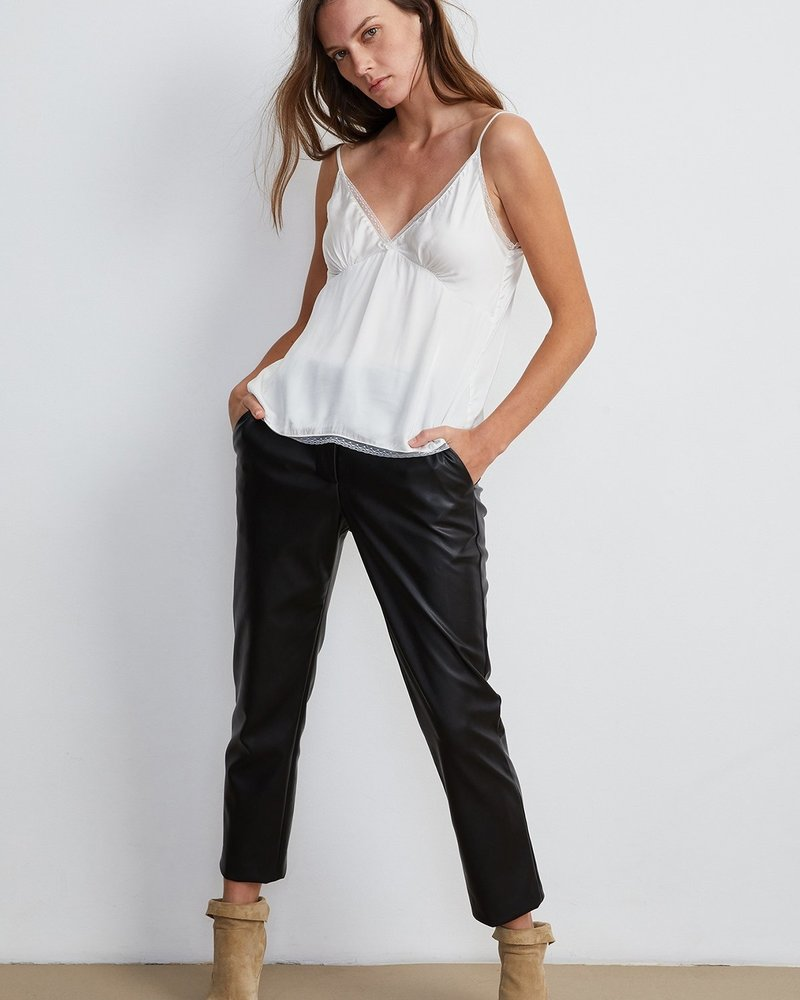 Velvet Honey Vegan Leather Pant