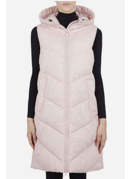 Save the Duck Long Quilted Vest