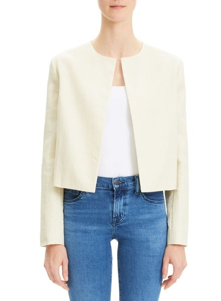 Theory Luxe Crop Jacket