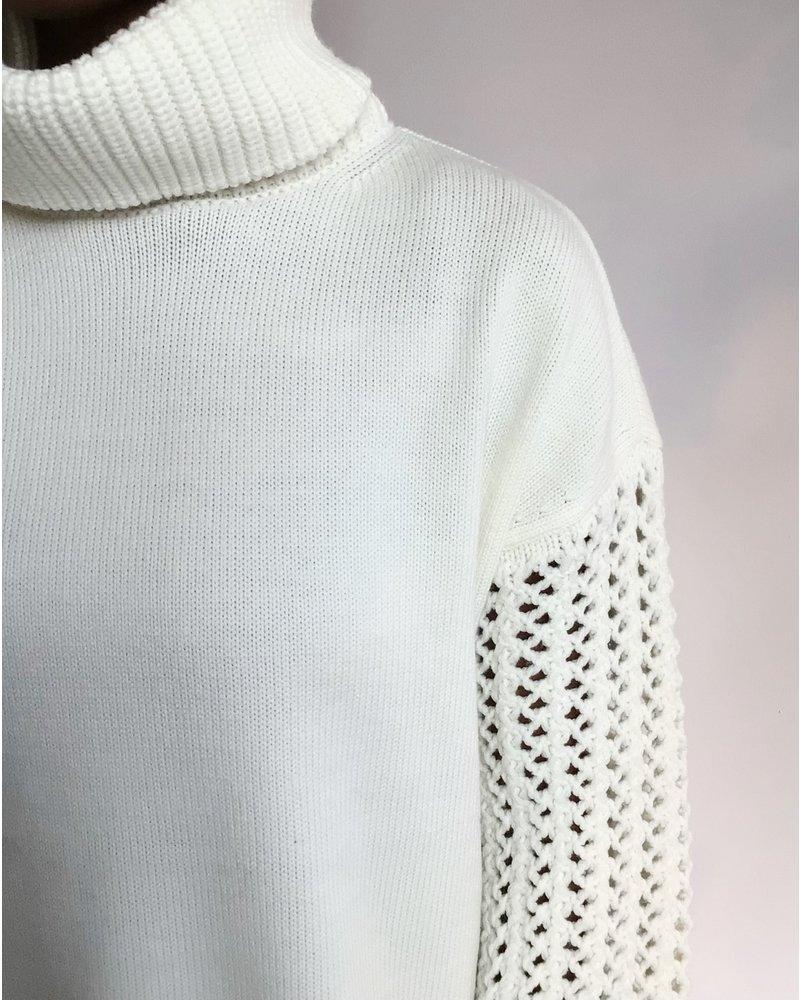 Alice + Olivia Adela Turtleneck Sweater