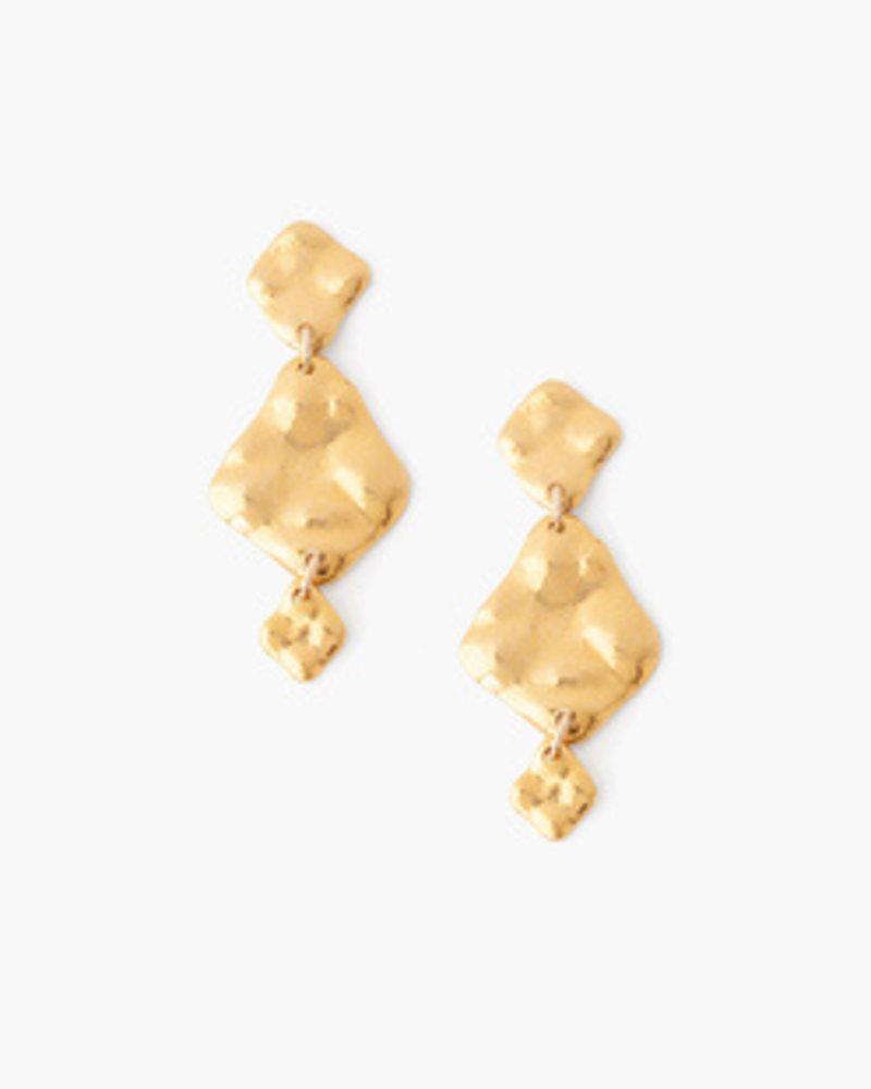 Chan Luu Tiered Gold Earrings