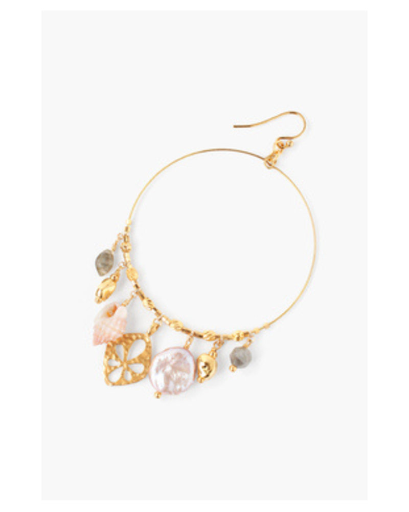 Chan Luu Shell Mix Hoops