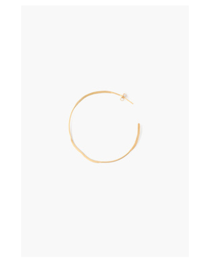 Chan Luu Big Gold Hoops