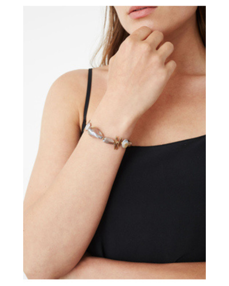 Chan Luu Mixed Pull Bracelet