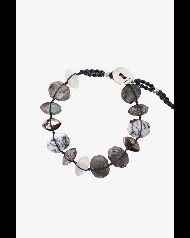 Chan Luu Nugget Bracelet Labradorite Mix