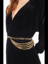 Brave Leather Katina Belt Gold