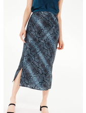 Cami NYC Jessica Skirt Blue Snake