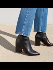 Loeffler Randall Isla Slim Ankle Boot Black Leather