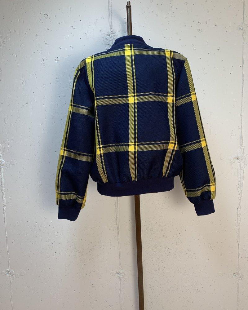 Milly Bomber Jacket/ Navy Gold/ L