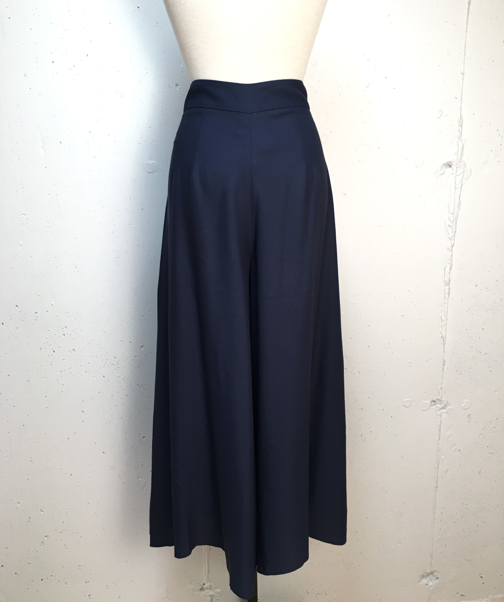 Pleated Wide Leg Pant/ Size 42