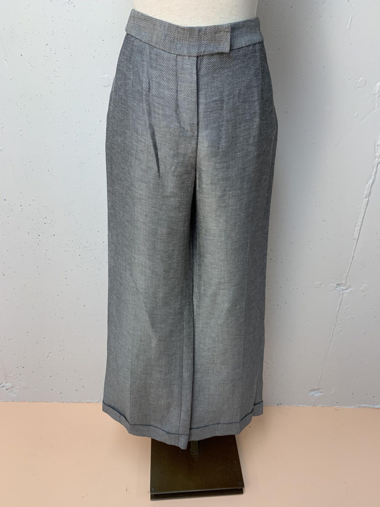 Wide Leg Pant/ Grey/ Size 10