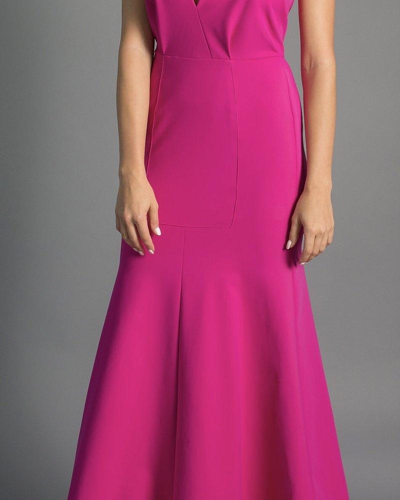 Greta Constantine Ms. Maha Dress/ Magenta/ S