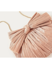 Loeffler Randall Rayne Pleated Clutch Dune