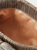 Loeffler Randall Rayne Pleated Clutch Dark Gold