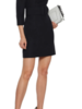 Milly Clare Puff Sleeve Dress/ Black/ 8