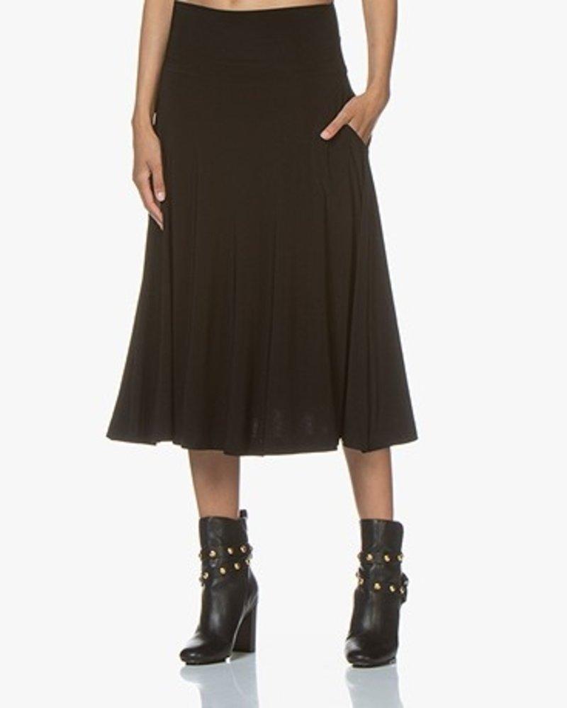 Norma Kamali Flared Skirt