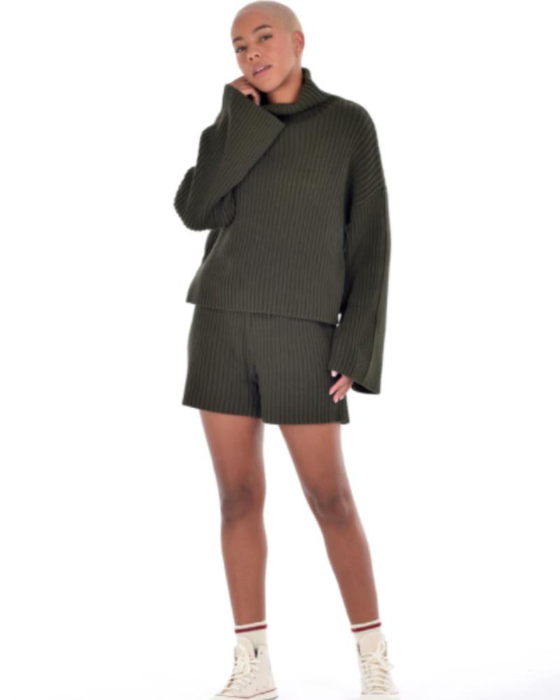 Paper Label Hunter Sweater