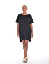 Paper Label Georgina Tee Dress Black