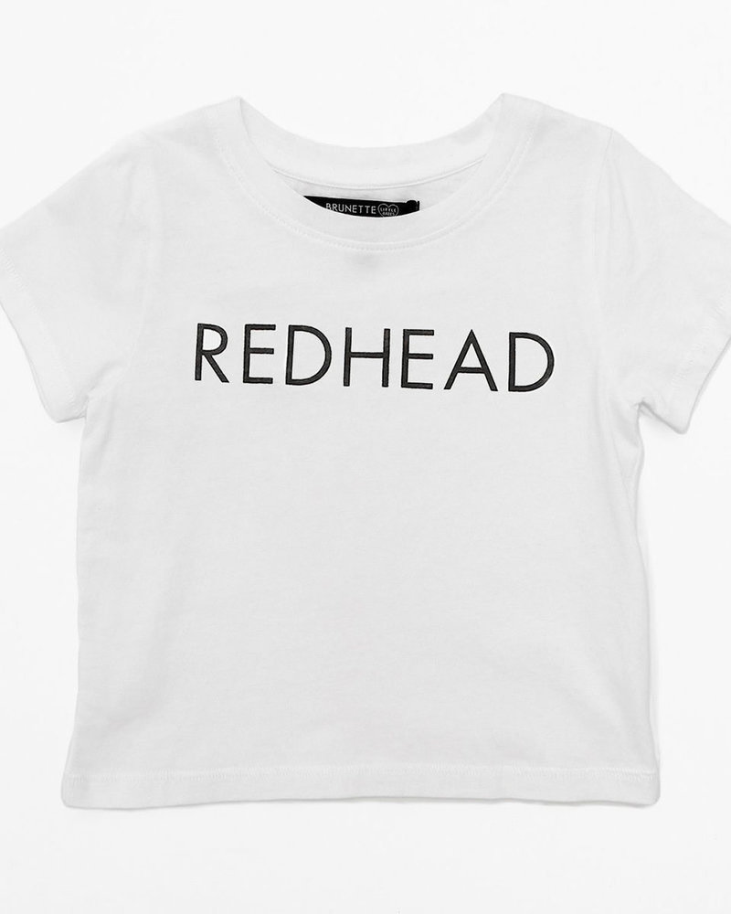 Brunette The Label Kids Redhead Tee