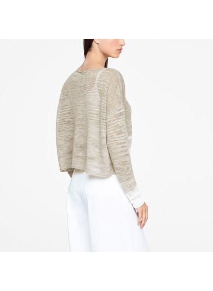 Sarah Pacini Ombre Sleeve Knit