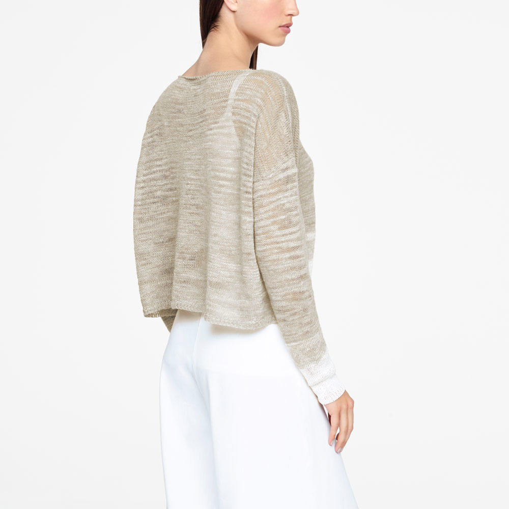 Sarah Pacini Ombre Sleeve Knit - One Size