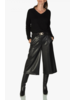 Cambio Camille Vegan Leather Crop